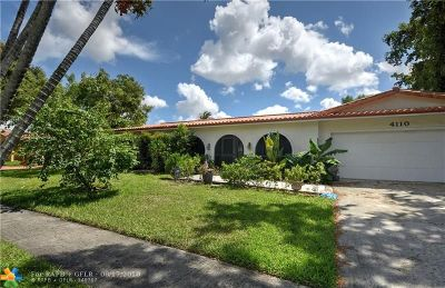 Coconut Creek Single Family Home For Sale: 4110 Lake Dr