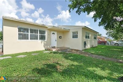 Miami Gardens Single Family Home For Sale: 1071 NW 197th Terrace