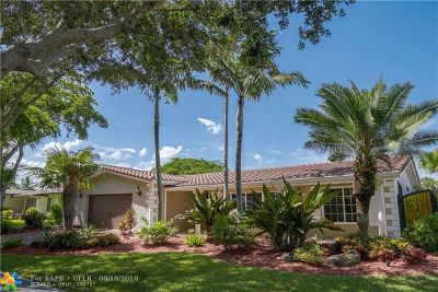 Pembroke Pines Single Family Home For Sale: 11441 NW 22nd St