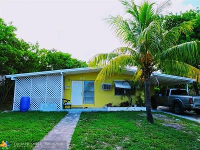Pompano Beach Single Family Home For Sale: 4511 NE 2nd Ave
