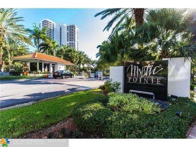Aventura Condo/Townhouse For Sale: 3500 Mystic Pointe Dr #PH5