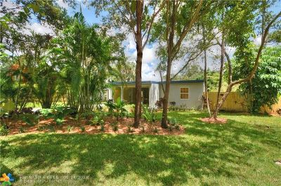 Fort Lauderdale Single Family Home For Sale: 1733 SW 14th St