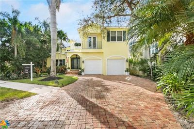 Fort Lauderdale Single Family Home For Sale: 706 S Rio Vista Blvd