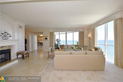 Pompano Beach Condo/Townhouse For Sale: 1460 S Ocean Blvd #1501