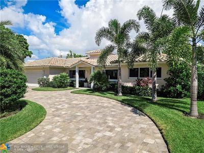 Fort Lauderdale Single Family Home For Sale: 2109 NE 44th St