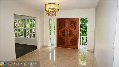 Fort Lauderdale FL Single Family Home For Sale: $2,699,000