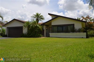 Sunrise Single Family Home For Sale: 9630 NW 31st Pl