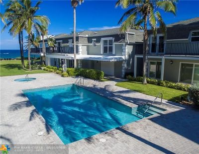 Hillsboro Beach FL Condo/Townhouse For Sale: $995,000