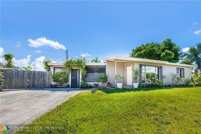Pompano Beach Single Family Home For Sale: 4030 NE 13th Ave