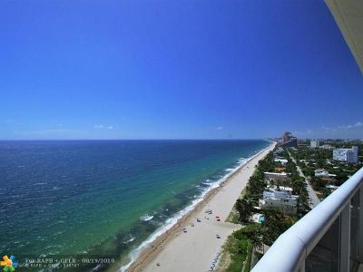 Condo/Townhouse For Sale: 3200 N Ocean Blvd #2109