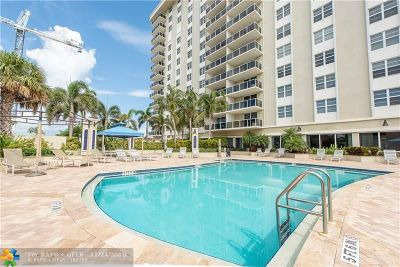 Fort Lauderdale Condo/Townhouse For Sale: 336 N Birch Rd #7C