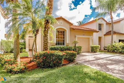 Coral Springs Single Family Home For Sale: 6361 NW 38th Dr