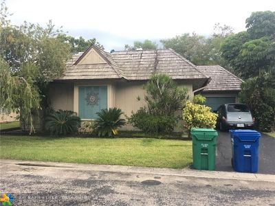 Coral Springs Single Family Home For Sale: 1945 Coquina Way