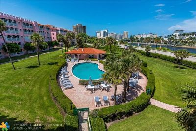 Boca Raton Condo/Townhouse For Sale: 1099 S Ocean Blvd #302S