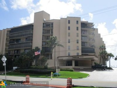 Hillsboro Beach Condo/Townhouse For Sale: 1167 Hillsboro Mile #311