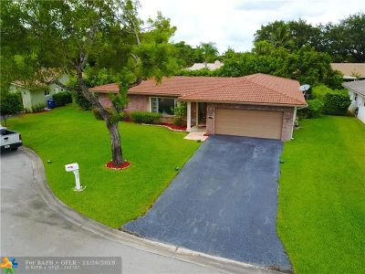 Coral Springs Single Family Home For Sale: 1071 NW 83rd Dr