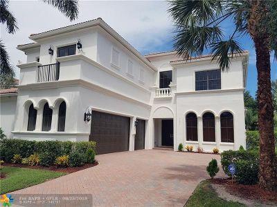 Boca Raton Single Family Home For Sale: 17874 Lake Azure Way