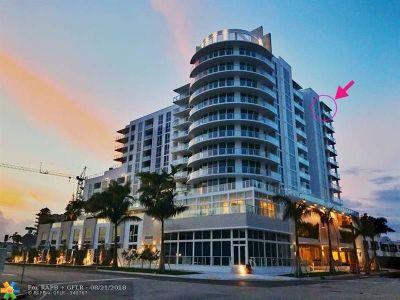 Fort Lauderdale Rental For Rent: 401 N Birch Rd #1215