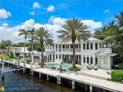 Fort Lauderdale Single Family Home For Sale: 2894 NE 26th St