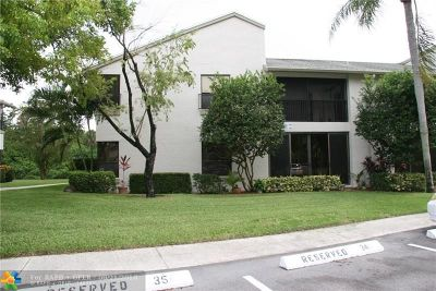 Coconut Creek Condo/Townhouse For Sale: 3651 NW 35th St #1667