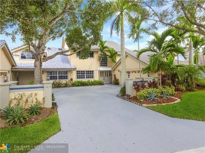 Coral Springs Single Family Home For Sale: 11831 Highland Pl