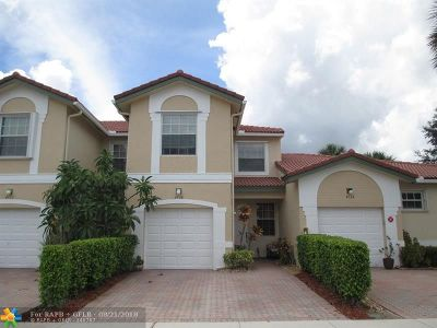 Coral Springs Condo/Townhouse For Sale: 4728 NW 117th Ave #4728