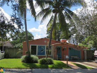 Fort Lauderdale Single Family Home For Sale: 809 SW 9th Ter