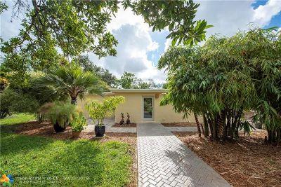 Dania Beach Single Family Home Backup Contract-Call LA: 4576 SW 26th Ter