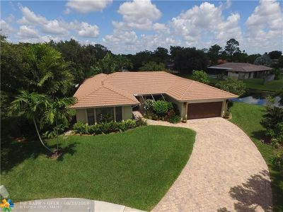 Plantation Single Family Home For Sale: 1160 NW 93rd Ter