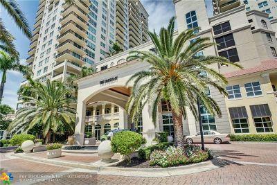 Fort Lauderdale Condo/Townhouse For Sale: 610 W Las Olas Blvd #2113