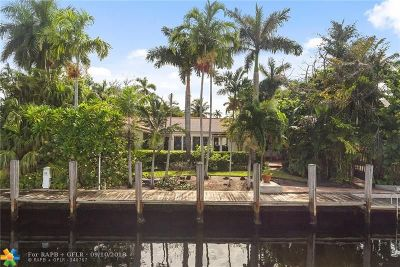 Fort Lauderdale Single Family Home For Sale: 111 Fiesta Way