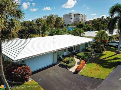 Lauderdale By The Sea Single Family Home For Sale: 1431 S Ocean Blvd 8