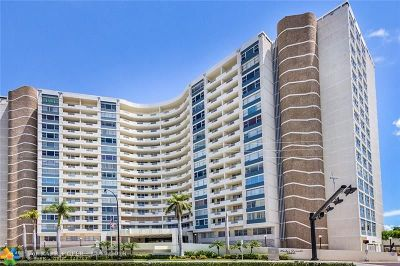 Hallandale Condo/Townhouse For Sale: 3180 S Ocean Dr #201