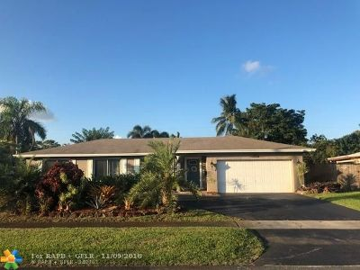 Plantation Single Family Home Backup Contract-Call LA: 5321 SW 10th Ct