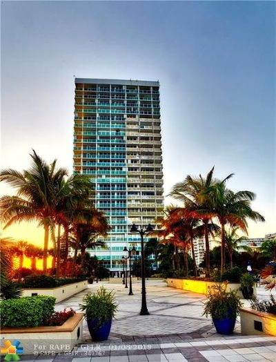 Fort Lauderdale Condo/Townhouse For Sale: 2100 S Ocean Lane #2103