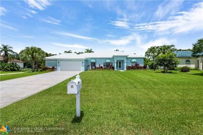 Pembroke Pines Single Family Home For Sale: 5321 SW 199th Ave