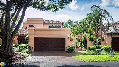 Deerfield Beach Single Family Home For Sale: 3146 Via Napoli