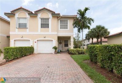 Coral Springs Condo/Townhouse For Sale: 4781 NW 117th Ave #4781