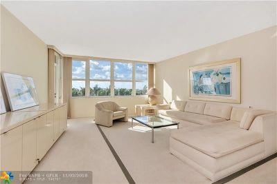 Palm Beach Condo/Townhouse For Sale: 2295 S Ocean Blvd #606