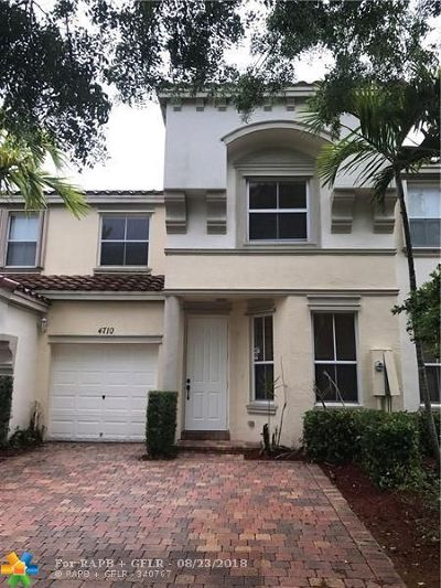 Miramar Condo/Townhouse Backup Contract-Call LA: 4710 SW 165th Ave #4710