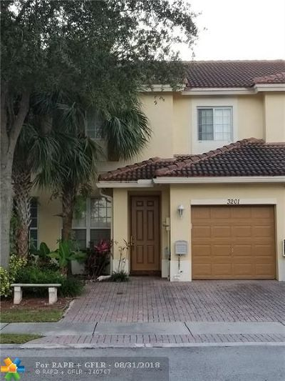 Oakland Park Condo/Townhouse Backup Contract-Call LA: 3201 NW 32nd Ter #3201