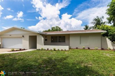 Lauderhill Single Family Home For Sale: 4501 NW 13th St