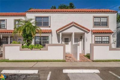 Sunrise Condo/Townhouse Backup Contract-Call LA: 9463 NW 42nd St #9463
