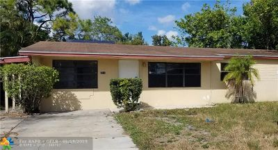 Broward County Single Family Home For Sale: 2711 NW 25th St