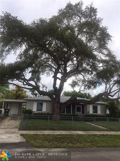 Miami Gardens Single Family Home For Sale: 345 NW 189th St