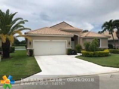 Boynton Beach Single Family Home For Sale: 9216 Cove Point Cir