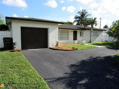 North Lauderdale Single Family Home Backup Contract-Call LA: 6803 Oakmont