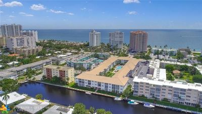 Lauderdale By The Sea Condo/Townhouse For Sale: 1461 S Ocean Blvd #218