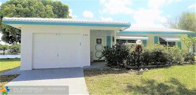 Plantation Single Family Home For Sale: 1111 NW 89th Ave