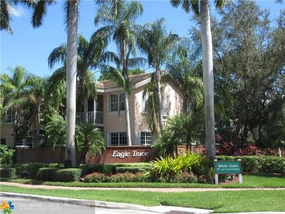 Coral Springs Condo/Townhouse For Sale: 12301 NW 10th Dr #12301